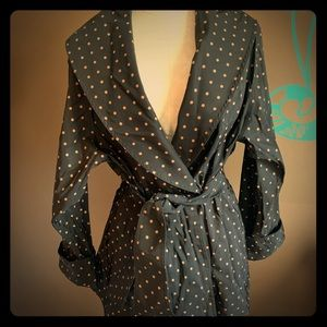 Jackets & Blazers - Cute Reversible Polka Dot Raincoat